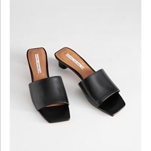 Square toed Mules & other stories